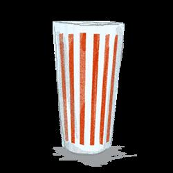 ヘーゼルアトラスのグラスはリップルやキャンディストライプ柄が根強い人気会社のイラスト